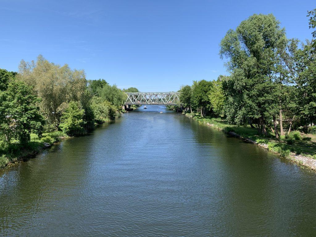 Brücke über den Kanal in Lehnitz