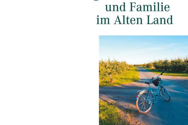Buchcover Unterwegs mit Fahrrad und Familie im Alten Land
